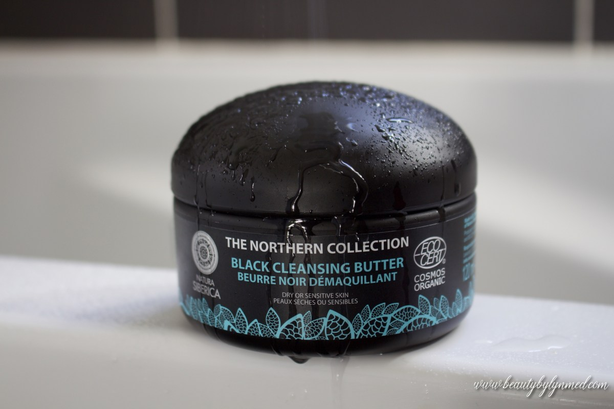 How Double Cleansing Changed My Skin - Natura Siberica Black Cleansing Butter